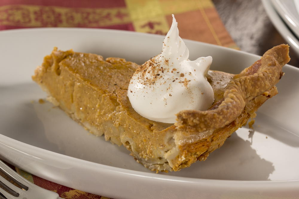 Lightened Up Pumpkin Pie | EverydayDiabeticRecipes.com