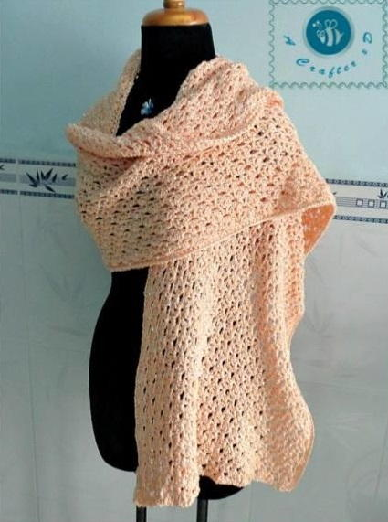 Glam Crochet Wrap