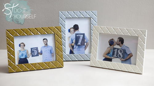 Photograph Chalkboard Table Numbers