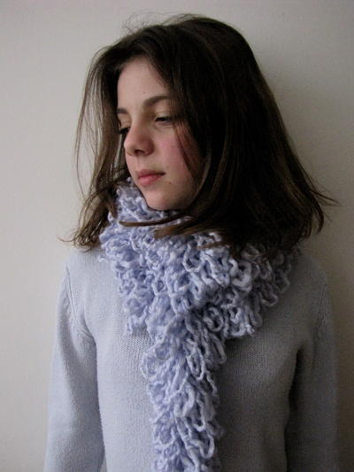 Ruffly Scarf Sewing Pattern