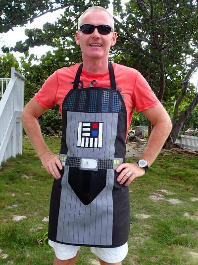 Darth Vader-Inspired Apron Pattern