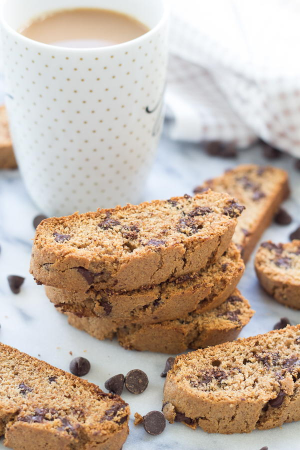 Chocolate Chocolate Chip Biscotti Recipe