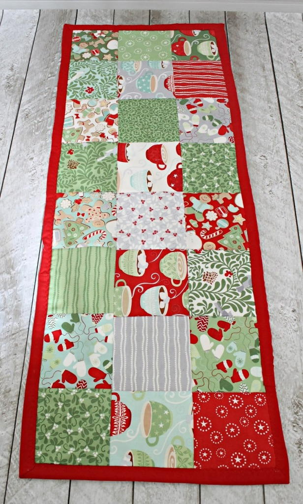 Easy Table Runner Sewing Pattern Allfreesewing Com