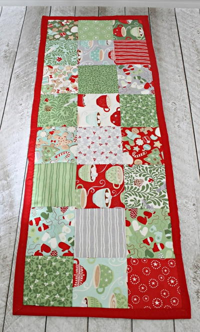 Easy Table Runner Sewing Pattern