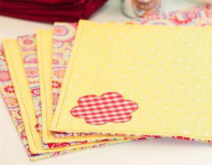 Reversible Placemat Sewing Pattern