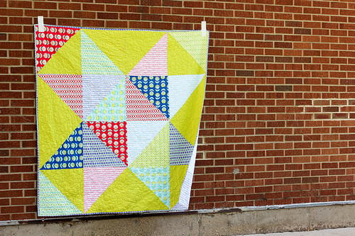 Summertime Scrappy Star Quilt Pattern