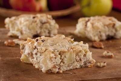 Nutty Apple Bars