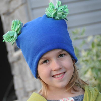 Pom Pom Fleece Hat Sewing Pattern  a4aa00c1834