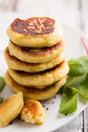 Leftover Mashed Potato Cakes