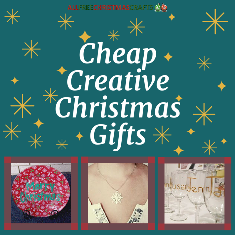 34 cheap creative christmas gifts for Creative xmas gifts