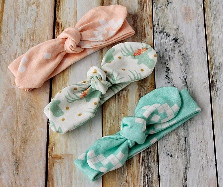 Toddler Bow Headband Sewing Pattern Allfreesewing Com