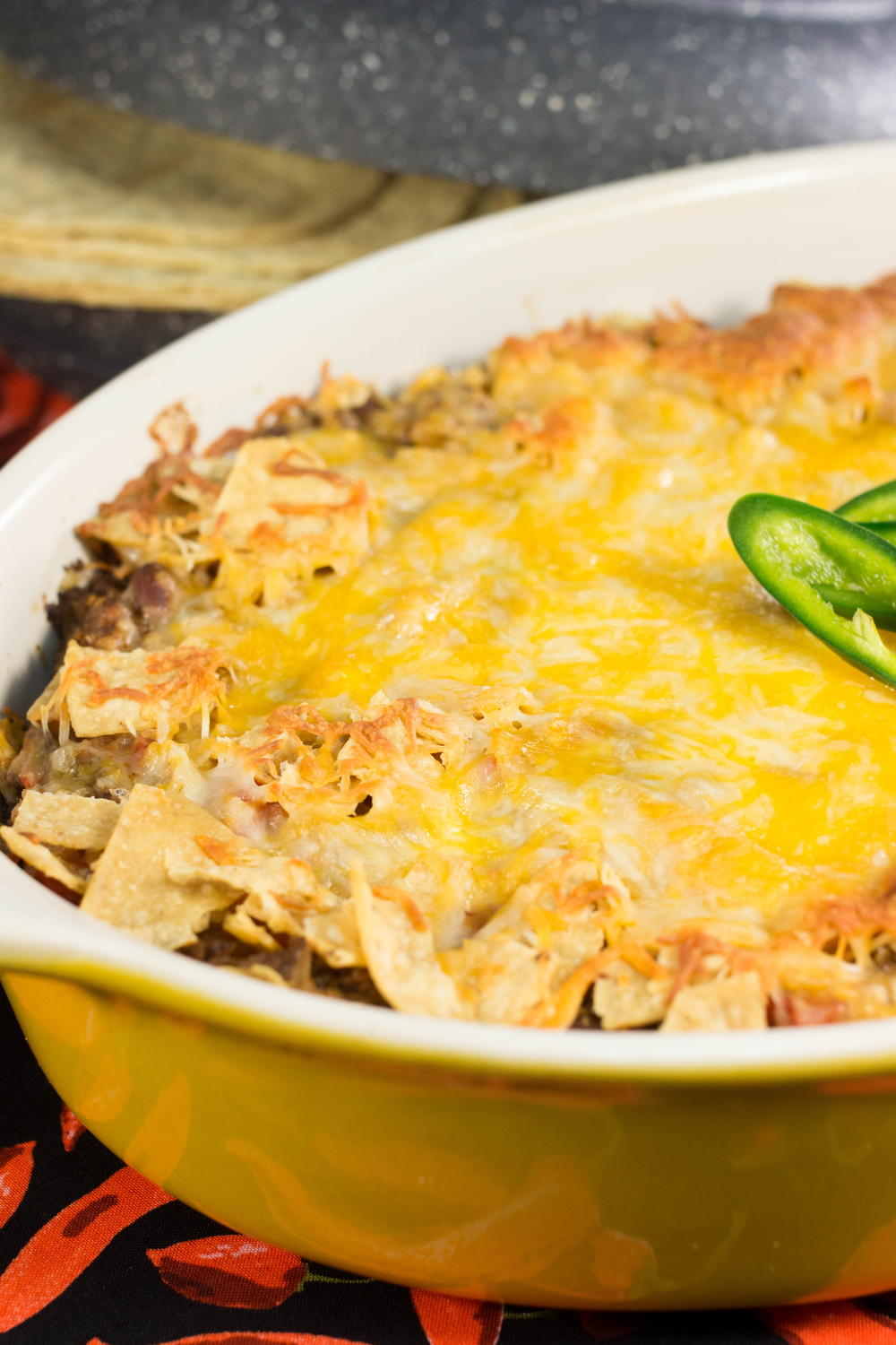 Zesty Mexican Taco Bake Favesouthernrecipes Com