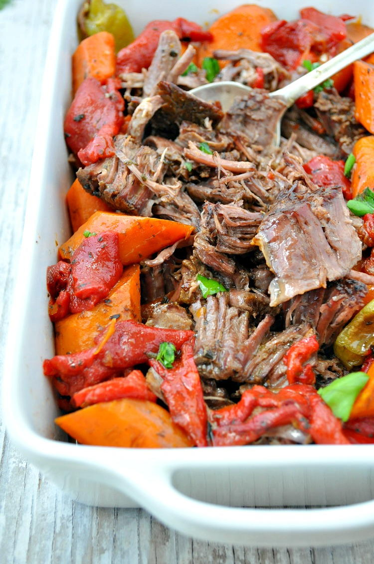 Lazy Day Italian Pot Roast | FaveGlutenFreeRecipes.com