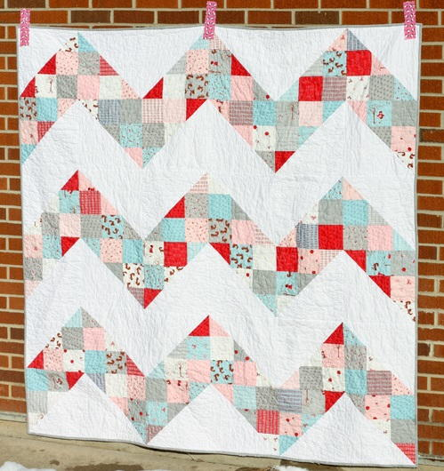 Exhilarating Chevron Quilt Pattern