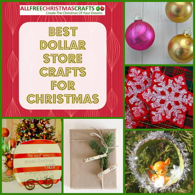 14 Best Dollar Store Crafts for Christmas