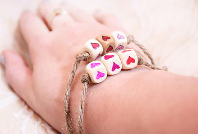 Adorable Hearts Friendship Bracelets