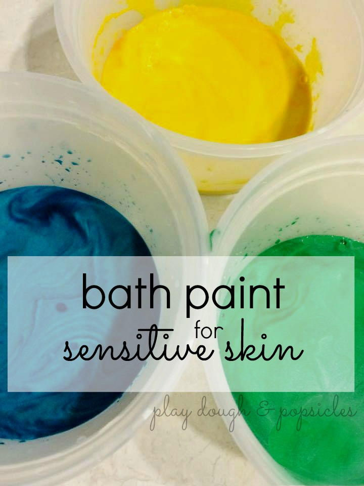 Bath Paint For Sensitive Skin Allfreekidscrafts Com