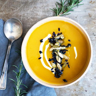 Creamy and Comforting Butternut Squash Soup
