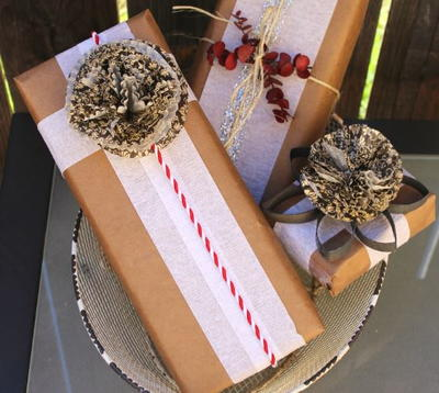 Toilet Paper Roll and Cupcake Liner Flowers