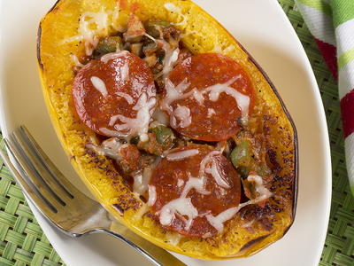EDR Pattys Pizza Stuffed Squash