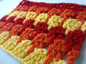 Larksfoot Crochet Stitch