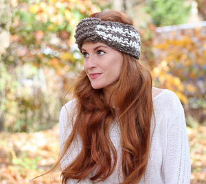 Nice and Neutral Striped Headband