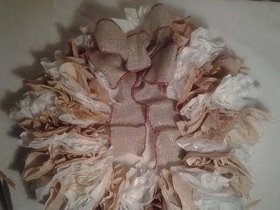 Year Round Coffee Filter Wreath