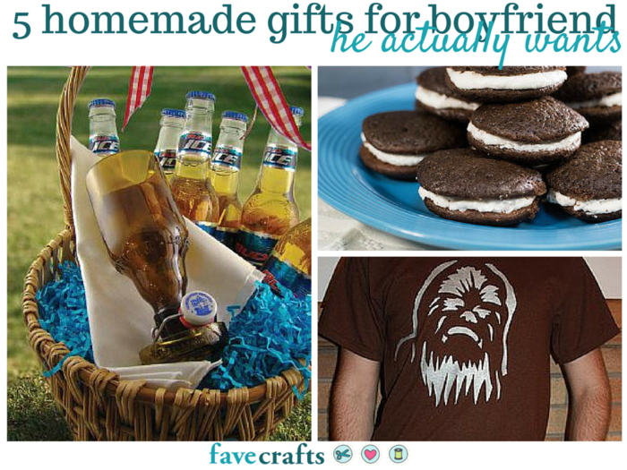 5 Homemade Gifts For Boyfriend He Actually Wants