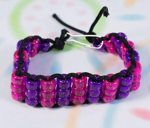 Pony Bead Bracelet AllFreeKidsCrafts