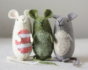 Friendly Little Mice Sewing Pattern