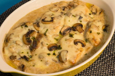 Comforting and Creamy Chicken Gloria Casserole