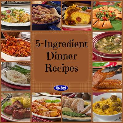 5 Ingredient Recipes 39 Simple 5 Ingredient Dinners Mrfood Com