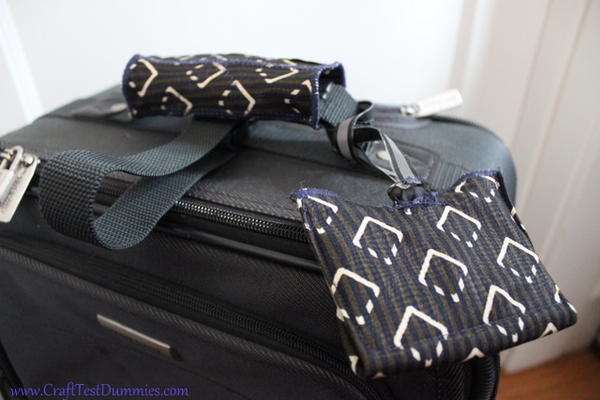 Old Tie Luggage Accessories