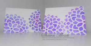 Stenciled Homemade Card