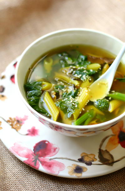 Tummy Healing Soup For One