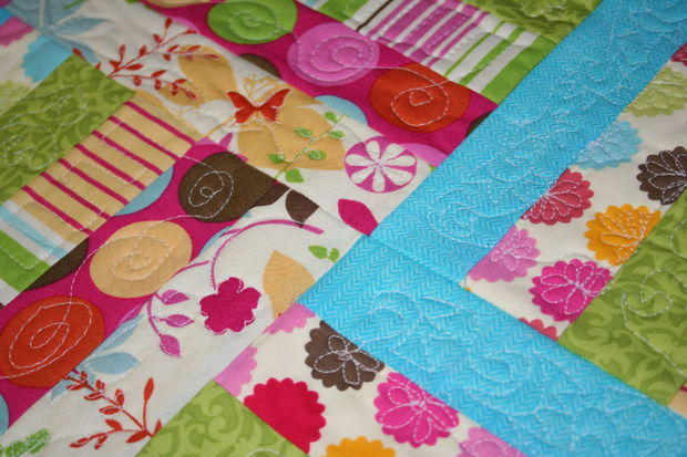 Easy Quilt As You Go Quilt Pattern Favequilts Com