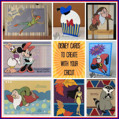 Eight Disney Cards You Can Make