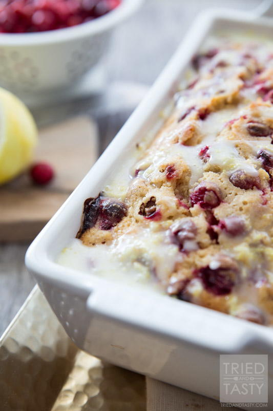 Lemon Cranberry Bread