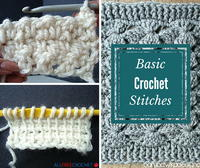 30+ Basic Crochet Stitches