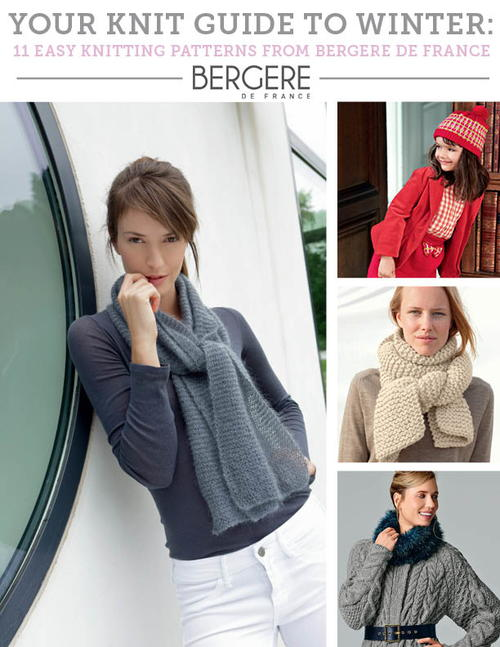 free bergere de france knitting patterns