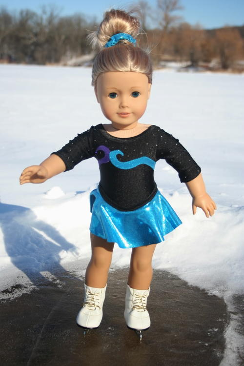 American Girl Ice Skating Uniform Sewing Pattern