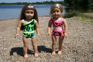 Doll Bikini Sewing Pattern