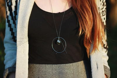 Gorgeous Geometric DIY Pendant