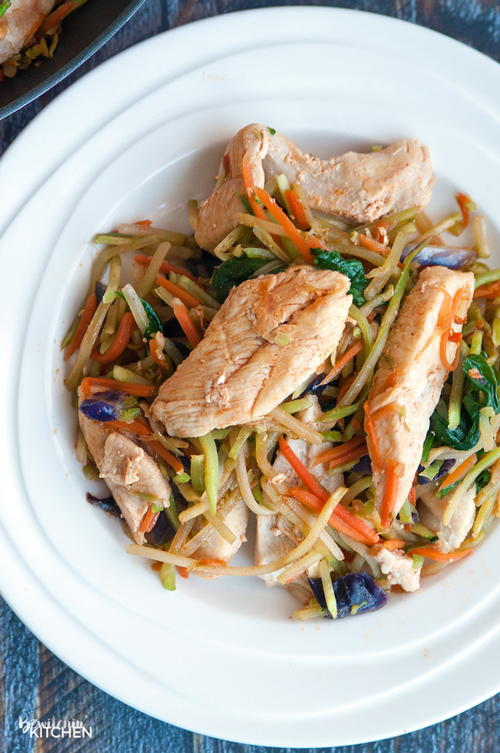 Sweet Sriracha Chicken Stir Fry
