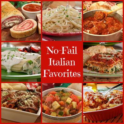 46 No-Fail Italian Favorites, Plus 9 Classic Sauces | MrFood com