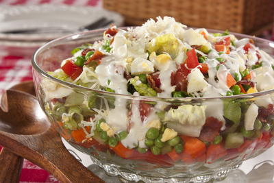 EDR Special Seven Layer Salad