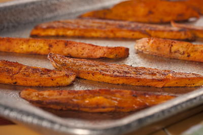 EDR Spicy Baked Sweet Potato Fries