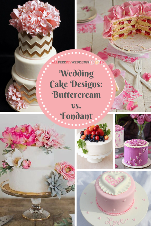 Wedding Cake Designs: How to Choose Between Buttercream and Fondant Icing
