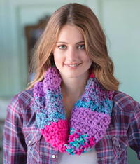 Girls' Night Out Crochet Cowl