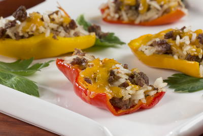 EDR Stuffed Mini Peppers